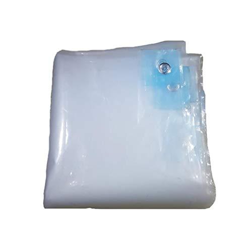 LLRDIAN Impermeabilizante Reforzado Resistente al Agua - Hoja de Lona - Cubierta Cubierta de Doble Cara Cubierta de Polvo for Camiones Lona alquitranada (Size : 8x12M)