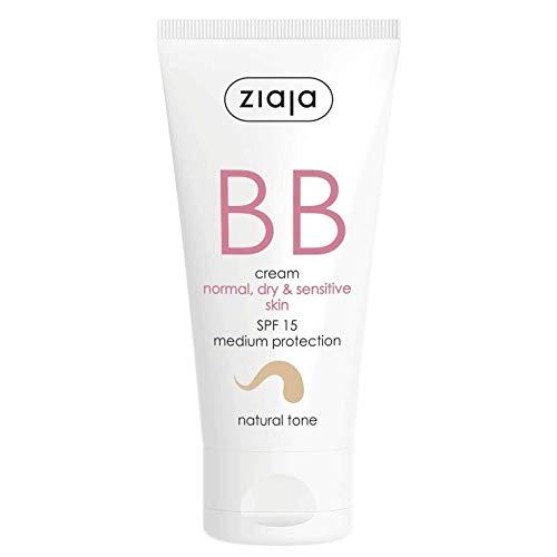 Ziaja - Gesichtspflege - BB Cream - Normal, Dry and Sensitive Skin - Natural Tone SPF15-1er Pack