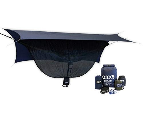ENO, Eagles Nest Outfitters OneLink Shelter System with Hammock, Straps, Bug Net and Rain Tarp
