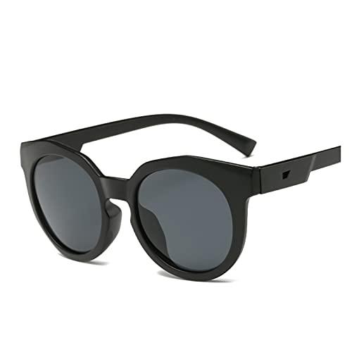 ZHEMAIE Gafas de Sol Belleza Ojo Gafas 2018 Gafas de Sol Niños Negro Niños Anti-UV Bebé Sombreado para Sol. (Lenses Color : Black)