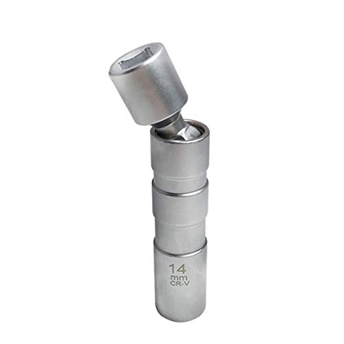 Universal 14Mm / 16Mm Llave de eliminación de Puntos magnética de la Manga de la bujía reparación del Coche Herramienta de eliminación de bujías