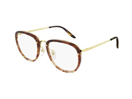 Gucci optischen rahmen GG0675O 003 Havana Acetat größe 52 mm Mann