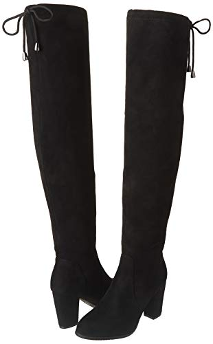 DREAM PAIRS Thigh-High Fashion Heeled Boots