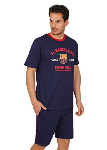 Pijama Hombre FC Barcelona Oficial Camp NOU Verano (XL