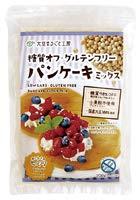 スマイルズ 糖質オフ・グルテンフリー パンケーキミックス オーサワジャパン 200g(100g×2)×6個