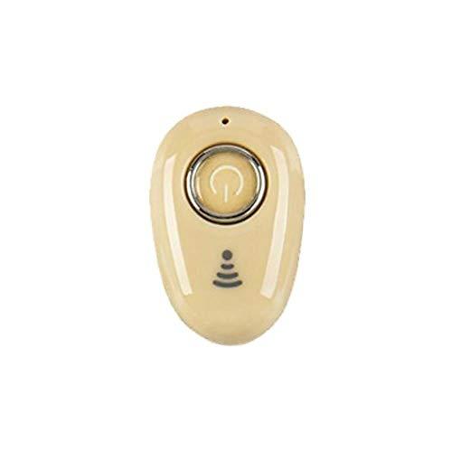 WSTERAO Auriculares Bluetooth Teléfono Manos Libres inalámbrico 5.0 Auriculares Bluetooth con cancelación Activa de Ruido y batería de Larga duración Mini Auriculares internos para Deportes