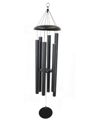 Corinthian Bells 44-inch Windchime, Black