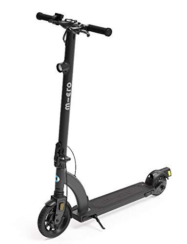 Micro Mobility Unisex - Adulto emicro M1 Colibri Scooter Eléctrico Negro, 108,1 x 94,3 x 56 cm ⭐