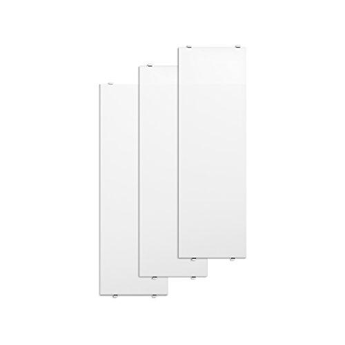 Unbekannt String - Regalboden 58 x 20 cm (3er-Pack), weiß lackiert