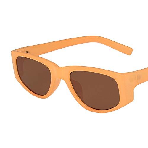 Gafas De Sol Gafas De Sol Clásicas De Ojo De Gato Vintage para Mujer, Diseño Cuadrado, Gafas De Sol De Ojo De Gato para Mujer, Gafas De Sol Al Aire Libre Uv400 C4Brown