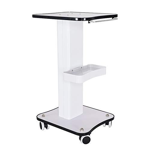 Beauty Salon Trolley Tragbar Medizinischer Wagen mit Ablagefach & Silent Universal Wheel Gerätewagen Friseur Rollwagen für Schönheitsinstrument