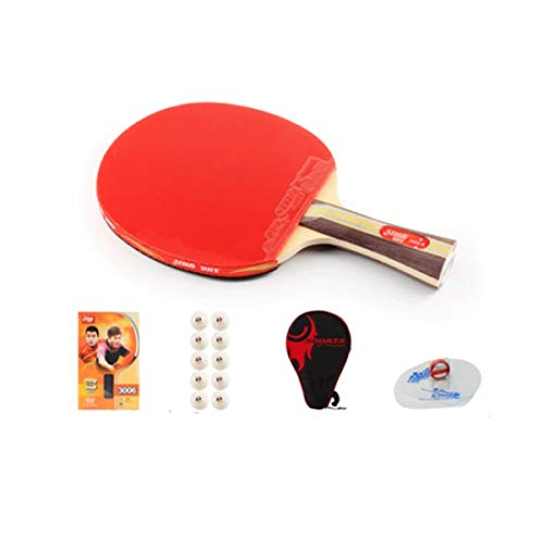 Buy Discount XSWY Table Tennis Racket, Suitable for Outdoor Sports and Fitness Rackets, Single Shot ...