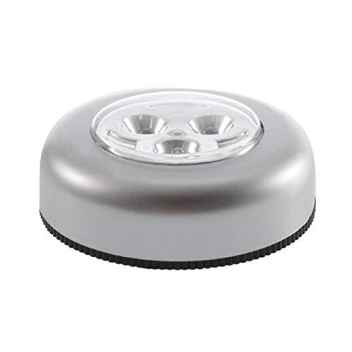 Zhou-YuXiang No Requiere cableado Lámpara de Noche con Control táctil Real 3...