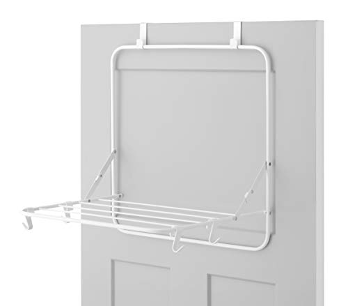 Whitmor Over The Door Drying Rack, White