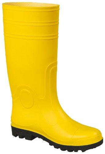 Gummistiefel EUROMASTER S5 gelb mit Stahlkappe und Durchtrittschutz (47, Gelb)