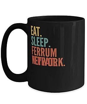 Ferrum Network Crypto Eat Sleep Ferrum Network Repeat Mug 15oz black