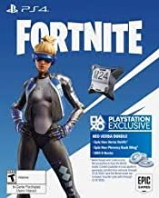 CareFlex Fortnite Neo Versa Bundle - Epic Neo Versa Outfit, Epic Neo Phrenzy Back Bling and 500 V-Bucks (PS4 Code)