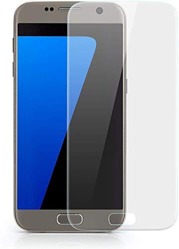 VAPIAO 2er Pack [2 Stück] Displayschutz Folie passend für Samsung Galaxy S7 Panzer Displayschutz Folie gewölbte Displays Full Cover Curved 3D Nano Screen Protector in Transparent