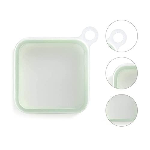 XXY Caja De Sándwich De Silicona Caja De Almuerzo Reutilizable Portátil Caja De Tostadas Suave Caja De Almuerzo Cocina Estuche De Sándwich Tablewar (Color : 1pc, Size : 1pcs)