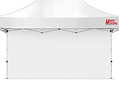 MASTERCANOPY Instant Canopy Tent Sidewall for 10x15 Pop Up Canopy, 1 Pack (10'x15', White)