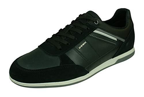 Geox U Renan B, Zapatillas Hombre, Negro (Black C9999), 39 EU