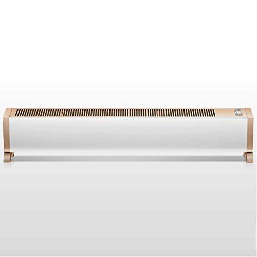 LIPENLI Calentador de zócalo Zócalo Calentador Hogar eléctricos del radiador Oficina de Secado de Ahorro de energía Calentador de Aire Caliente Silencio Suitfor Dormitorio/Estudio/baño/Oficina /