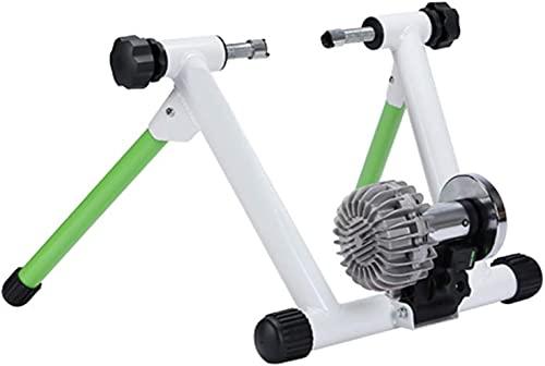 Fluid Bike Trainer Stand Entrenador de bicicleta interior inteligente Capitable de fluido Resistencia al ejercicio Entrenador de ejercicios tranquilo Reducción de ruido Estacionario Soporte de bicicle