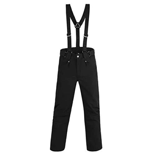 YHWW Combinaison de Ski Nouvelle Marque Ski Suit Hommes Hiver Manteau Imperméable De Haute Qualité Snowboard Définit Noir Couleur en Option Ski Définit Mâle, Pantalon, XL