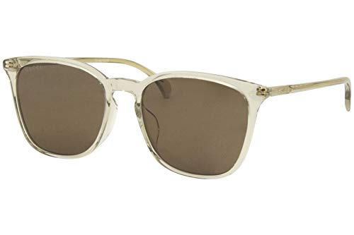 Gucci zonnebril (GG-0547-SK 004) bruin kristal - grijs-bruin