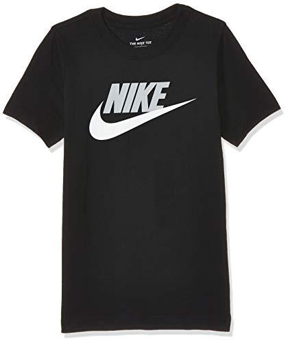 Nike Boys B NSW TEE FUTURA ICON TD T Shirt Blacklt Smoke Grey S
