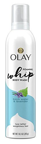 Olay Body Wash Whip Birch Water & Lavender 10.3 Ounce Foam (3 Pack)