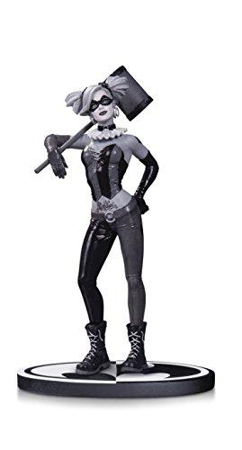DC Direct - Black and White Harley Quinn Figurine, 761941339498, 19 cm