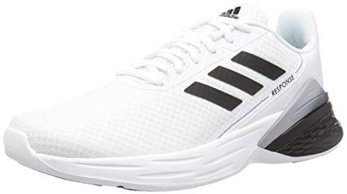 adidas Herren Response SR Sneaker, Ftwbla/Negbás/Griglo, 43 1/3 EU