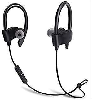 VALSH QC-10 Bluetooth Earphone Wireless Headphones for Mobile Phone Sports Stereo Jogger,Running,Gyming Bluetooth Headset Compatible with All Devices(Multicolour)