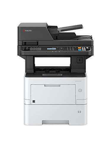 Kyocera Klimaschutz-System Ecosys M3145dn/KL3 3-in-1 Multifunktionsdrucker. 3 Jahre Kyocera Life vor Ort Service. Schwarz-Weiß, Duplex-Einheit, 45 Seiten pro Minute mit Mobile-Print-Funktion