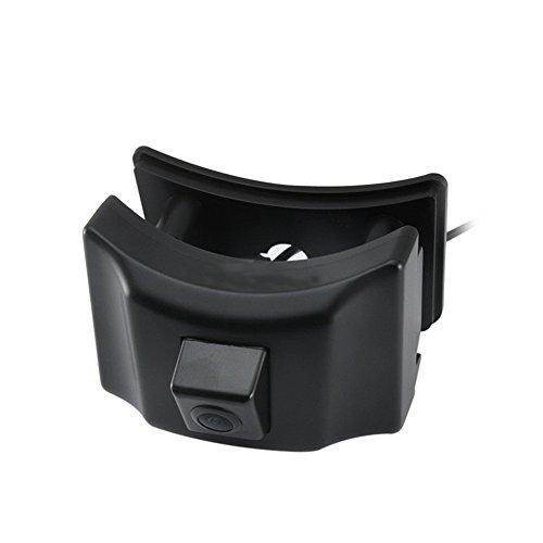 Kalakus Caméra de recul Plaque d'immatriculation,1280 x 720 Pixels Lignes 1000TV Starlight Super Pro Lens, Système de recul par capteur de recul, pour Prado Land Cruiser 150