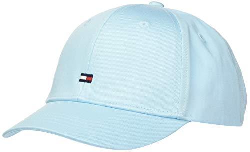 Tommy Hilfiger Unisex Kinder BB Cap Hut, Frost Blue, Small
