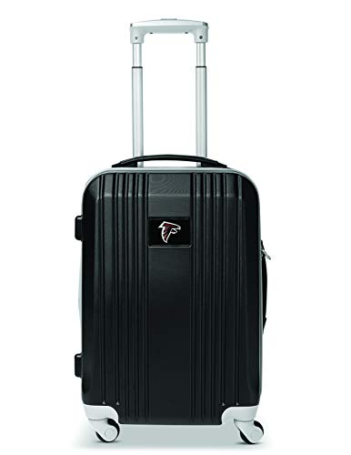 Denco NFL Atlanta Falcons Round-Tripper Two-Tone Hardcase Luggage Spinner