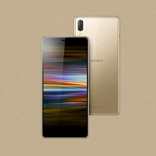 Sony Xperia L3 Smartphone (14, 5 cm ( 5.7 Zoll) 18: 9 HD+ Display, 32 GB Speicher, Dual-SIM, Android 8.1),Gold