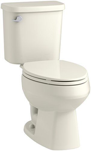 STERLING, a KOHLER Company 403081-96 Windham Toilet, 12-Inch, Biscuit