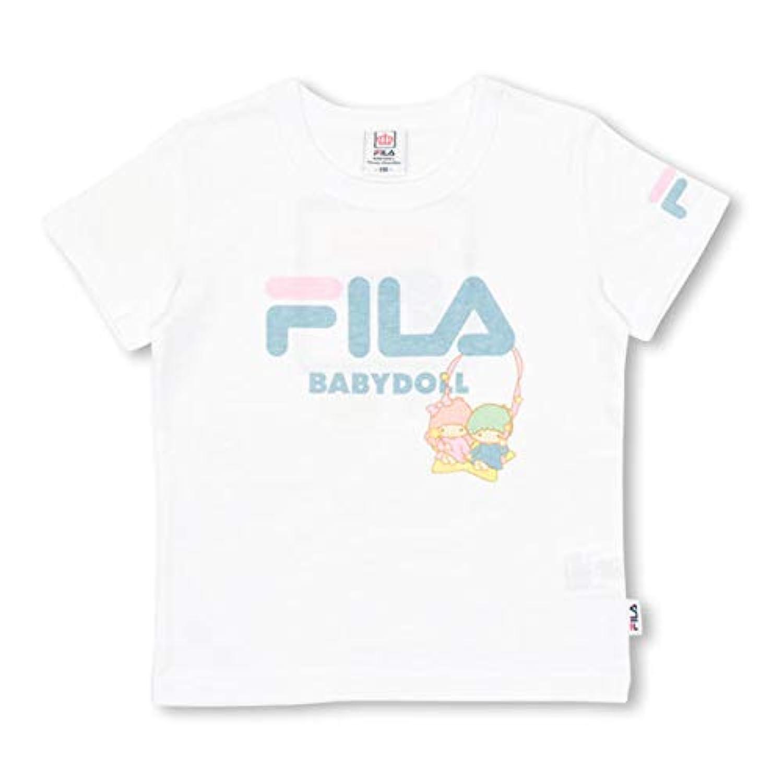 BABYDOLL(ベビードール) BABYDOLL サンリオ FILA キキララTシャツ- 1216K 110cm キキララ