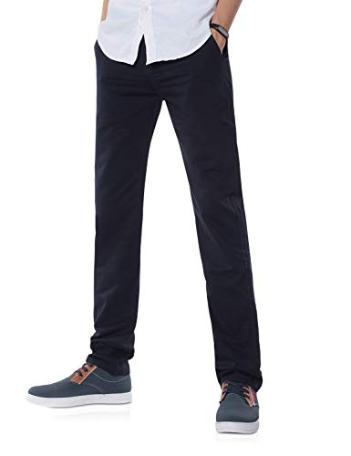 Demon&Hunter 900X Clásico-Fit Series Hombre Chinos Pantalones DH9002(34)