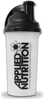 Applied Nutrition Shaker Proteinshaker Eiweißshaker Eiweiß Protein Shaker Schwarz/rot 700ml Fassungsvermögen