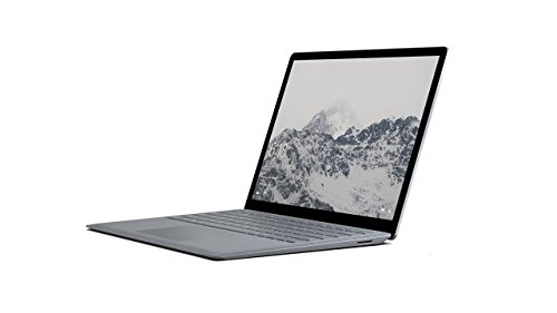 Microsoft Surface Laptop 34,29 cm (13,5 Zoll) Laptop (Intel Core i7, 512GB Festplatte, 16GB RAM, Intel Iris Plus Graphics 640, Win 10 S) Platin Grau