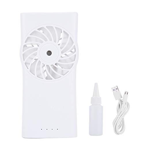 verstuiver ventilator – handverstuiver ventilator met accu, water-spray-ventilator, draagbare miniventilator voor op het bureau