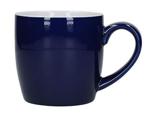 London Pottery Mug en céramique Tasse en plusieurs couleurs des Ensembles de 2 ou 4 340 ml 4 x Cobalt Blue