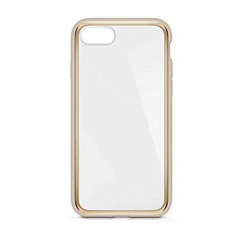 Belkin F8W849btC00 SheerForce Elite beschermhoes voor iPhone 8/7 (Polycarbonaat, Drop Protection, Full Port Access), Zwart, iPhone 8/7 Plus, iPhone 8/7 Plus, Goud