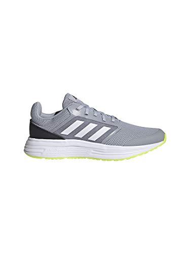 adidas Galaxy 5, Zapatillas para Correr Hombre, Halo Silver FTWR White Core Black, 40 2/3 EU