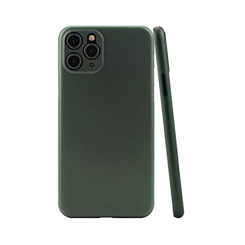 CELLBEE iPhone 11 Pro Max Hülle Case - Premium Slim Schutzhülle Kompatibel mit iPhone, Extrem Dünn, Anti Kratzer, Schutz ohne Kompromisse Midnight Green