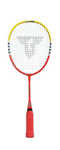 Talbot Torro Kinder Badmintonschläger BISI Mini, Schulsportschläger 53cm, spezieller Lerngriff, 419603
